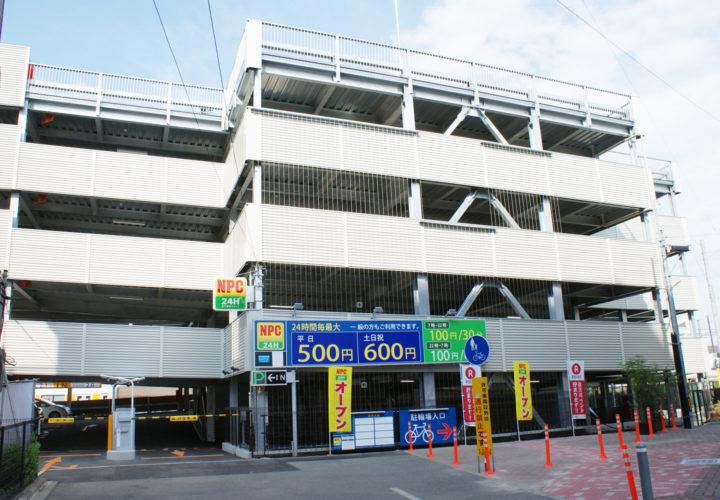 東松山駅前土地開発PJ駐車場建設工事